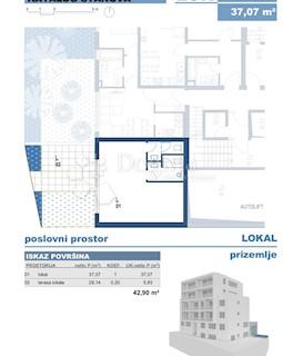 Poslovni prostor - Prodaja - GRAD ZAGREB - ZAGREB - VOLOVČICA
