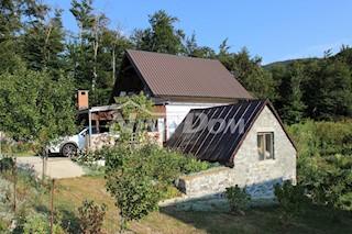 Kuća - Prodaja - LIČKO-SENJSKA - KARLOBAG - BAŠKE OŠTARIJE