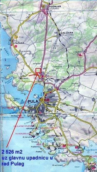 Zemljište - Prodaja - ISTARSKA - PULA - PULA